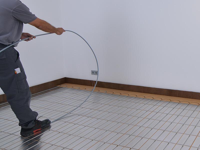 Fußbodenheizung Rohre Verlegen ~ Ratgeber fußbodenheizung mit trockenbau systemen